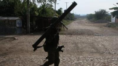Las autoridades han reforzado la presencia militar en Jalisco, México.