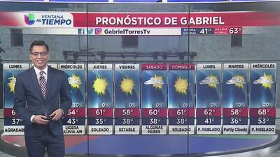 Temperaturas frías para la mañana de este lunes en San Antonio