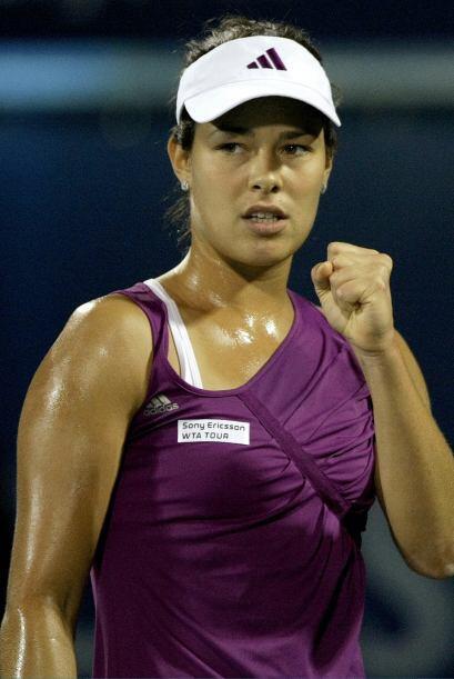 La belleza del día toca a la guapa tenista serbia, Ana Ivanovic, ganador...