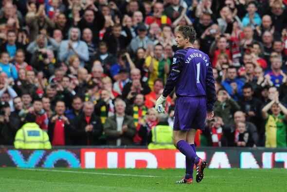 Van der Sar sabía la importancia de ese juego, su último en la Premier.