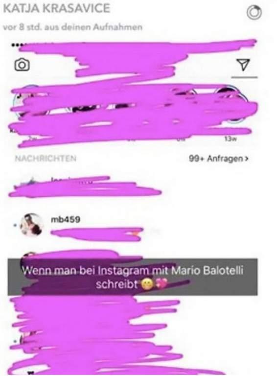 Mario Balotelli es noticia por esta sexy modelo alemana Katja IG.jpg