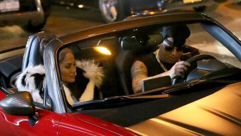 El 31 de agosto Jennifer López y Wisin grabaron varias escenas de...