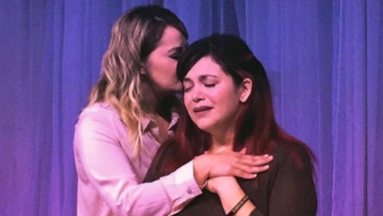 Jacquelin Melina Marín y Rosie Rivera