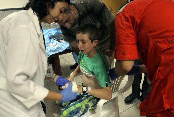 El hospital de Trípoli se encuentra repleto con más de 500 heridos como...