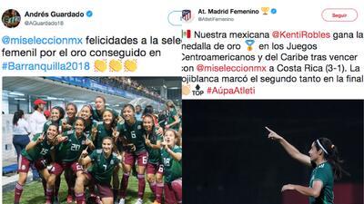 El mundo se rinde ante las campeonas del fútbol femenino en  los Centroamericanos