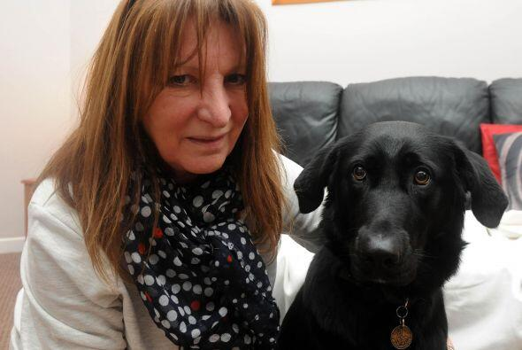 Lesley Hailwood, de 61 años, se encuentra sumamente agradecida con su ma...