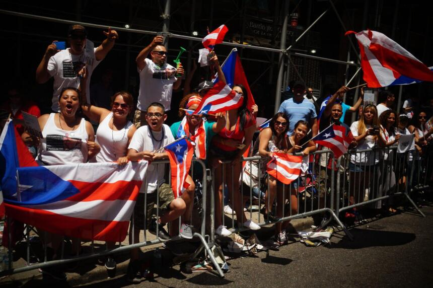 Desfile de Puerto Rico en Manhattan