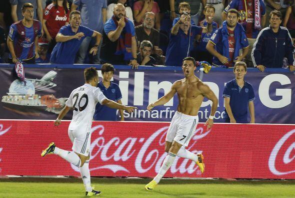 En la última jugada Cristiano Ronaldo consiguió el gol del triunfo.