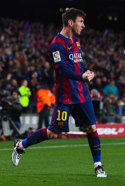Messi volvió a mostrar su instinto goleador con una definición soberbia...