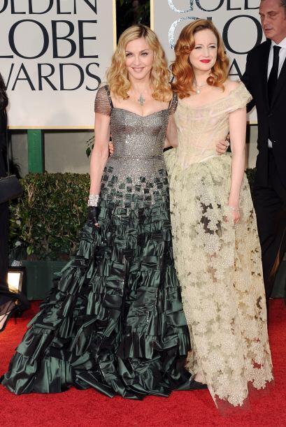De los peores atuendos que pudimos apreciar fue el de Madonna, adem&aacu...