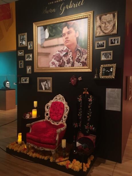 Exbibición del Día de Muertos en el Museo Nacional de Arte...