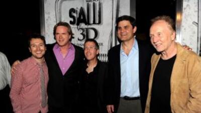 Actores y realizadores de Saw 3D.