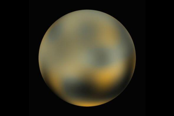Plutón fue descubierto en 1930 pero fue el único espectro de luz con el...