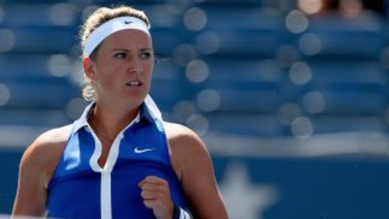 Ekaterina Makarova venció en dos sets a Azarenka.