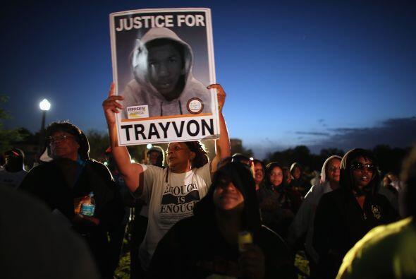 20 de marzo de 2012. Anuncian que la novia de Trayvon Martin, identifica...