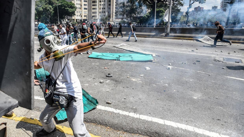 Las fotografías más impresionantes de las recientes protestas contra el...
