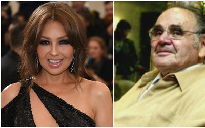 Thalía recordó a Valentín Pimstein, creador de sus inolvidables 'Marías'