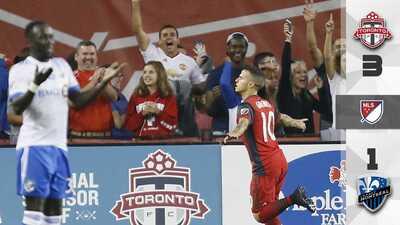 Sebastian Giovinco y Toronto FC hunden en media hora al Montreal Impact para ganar 3-1