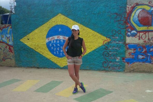 Maity sigue visitando distintos puntos de Río de Janeiro, y en esta ocas...