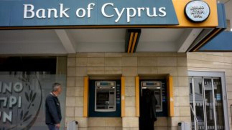 El Banco de Chipre es la principal entidad bancaria de la isla.