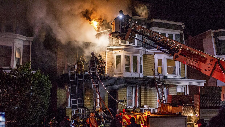 Incendio en Harribug causado por la explosión de un 'hoverboard'