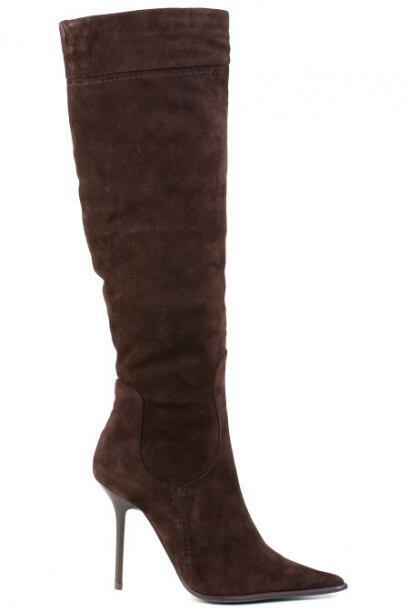 Muy muy altas. El estilo de bota que sobrepasa la rodilla ya es una tend...
