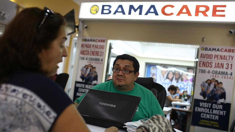 Centro de inscripción en Obamacare en Miami
