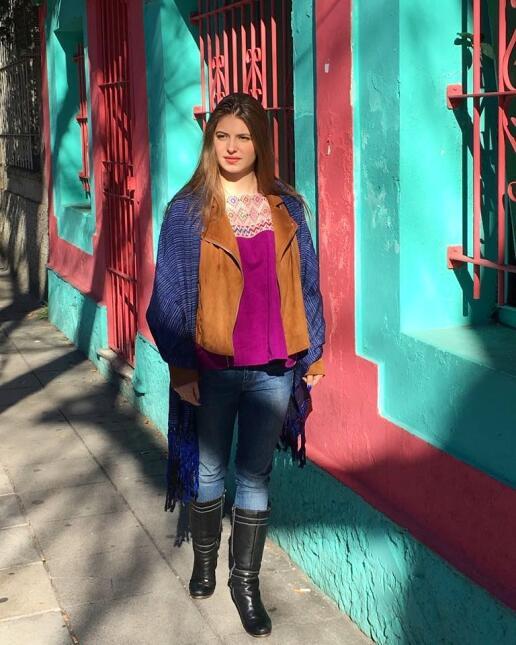 Danielo Aedo dejó impactadas a las redes sociales con su belleza