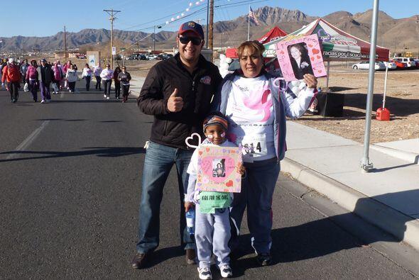 En apoyo a la lucha contra el cáncer de seno, más de once...