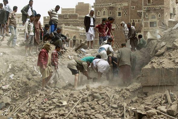 La zona vieja de Saná cuenta con 6,500 casas que remontan al siglo XI d....