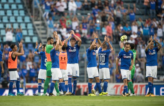 Estadio Azul: 18,141 espectadores
