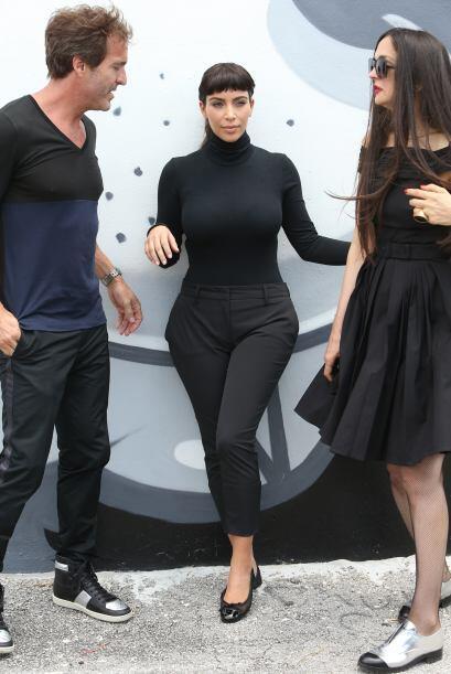 Kim Kardashian regresó de París con mucho glamour. M&aacut...
