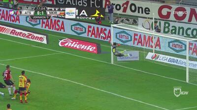 Atlas sigue encima y Vigón se quedó cerca de igualar el marcador
