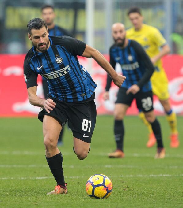 2. Antonio Candreva (Inter de Milán): si bien los reflectores van hacia...