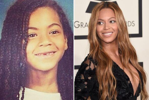 Beyoncé ha sido muy risueña desde chiquita, ese encanto lo conserva toda...