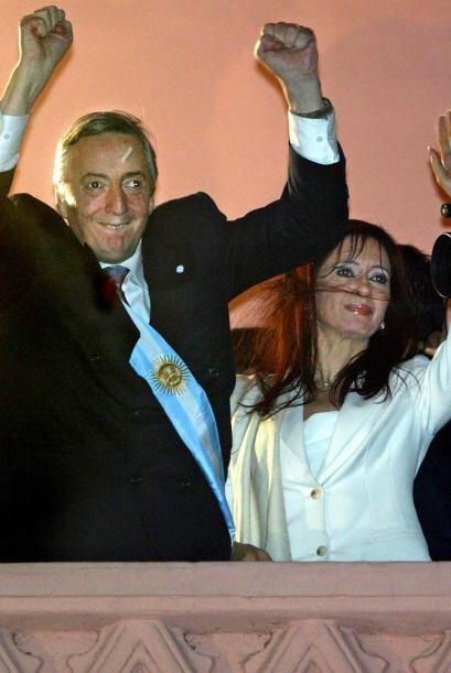 NÉSTOR KIRCHNER Y CRISTINA FERNÁNDEZ - Néstor y Cri...
