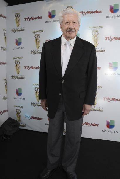 """Interpretó al abuelito de """"Maricruz"""" y dio la experiencia a la telenovela."""