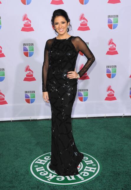 Maity Interiano Latin Grammy 2012