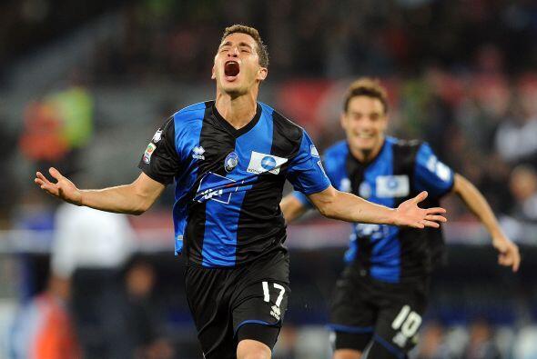 Sin embargo, el Atalanta sacó la victoria final con los goles de Gianpao...