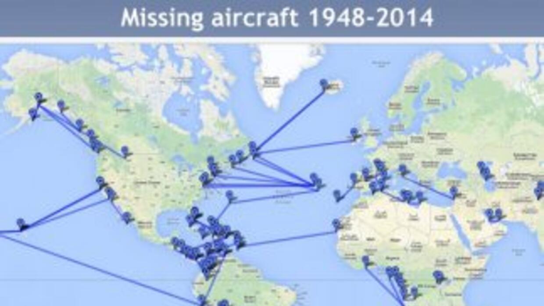 Imagen tomada del portal de la Aviation Safety Network, que lleva el reg...