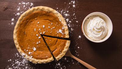 Cómo preparar el famoso 'pumpkin pie' en nueve pasos
