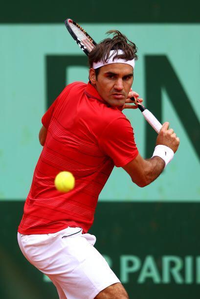 Federer comentó que no llegar como favorito a este Grand Slam le da pode...