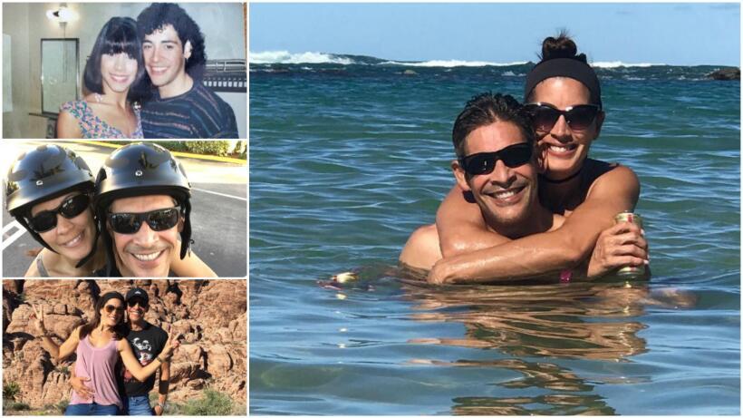 Johnny Lozada y su esposa Sandra Melendez Pequeños Gigantes USA