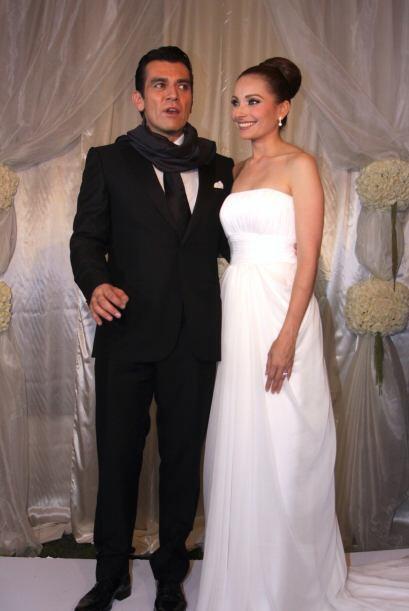 La parejita contrajo matrimonio en 2011.