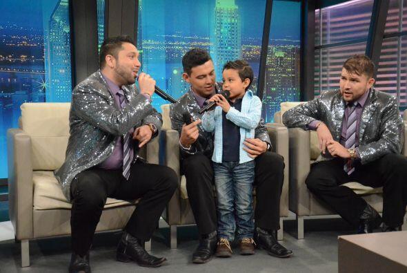 """""""Camarón pelao"""" fue uno de los temas que el pequeño se atrevió a cantar."""