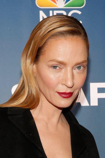 Este fue el look que puso en aprietos a Uma Thurman.