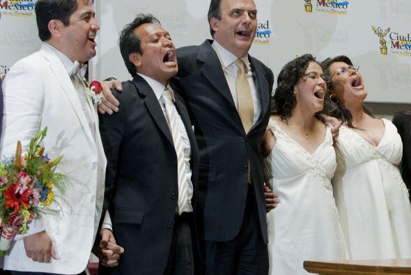 El Gobierno del Distrito Federal detalló que entre los matrimonio...
