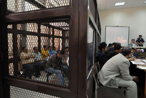 La condena fue impuesta a los criminales por la matanza de 11 presuntos...