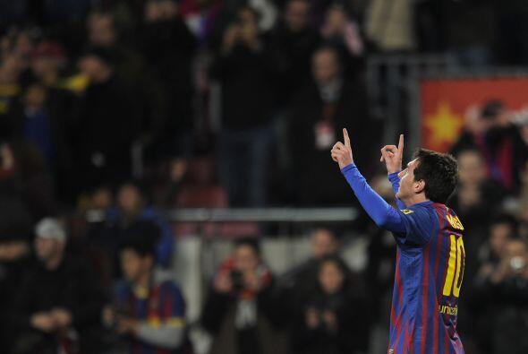 Marcador final con triunfo del Barcelona por cuatro goles de ventaja. Ah...