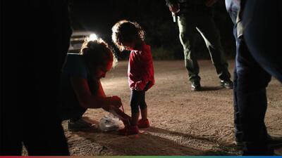Estremecedor audio de niños separados de sus padres en la frontera te pondrá la piel chinita